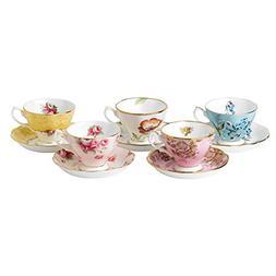 Royal Albert 40017548 100 Years 1950-1990 Teacup & Saucer Se