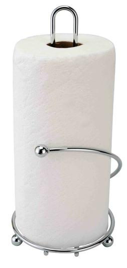 13 Inches Stainless Steel Chrome Paper Towel Stand Holder, D
