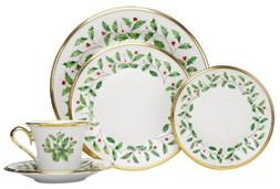 Lenox 146590600 5 Piece Holiday Plate Setting