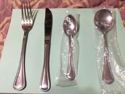 18-10 Amko International Toulouse 4 Piece Stainless Flatware