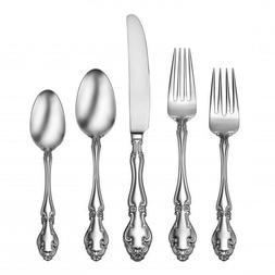 Oneida 18/10 Stainless Fine Flatware Sets, Service for 12 -