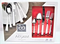 Mikasa 18/10 Stainless Steel, 65 piece silverware set