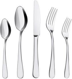 20 pcs stainless steel flatware set service