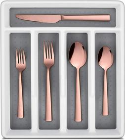 20 PCS Stainless Steel Silverware Flatware Set Kitchen Cutle