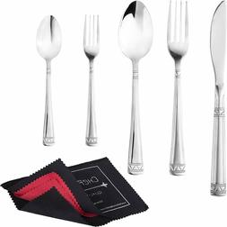 20 piece flatware set stainless steel cutlery