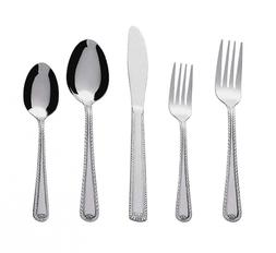 20-Piece Stainless Steel Flatware Silverware Cutlery Set,Ser