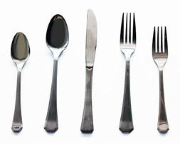 BergHOFF 2211451 20-Piece Everyday Flatware Set, Silver