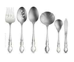 Oneida 2766006A Dover 6-Pc Serving Set