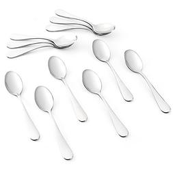 Sweese 3703 Teaspoons Set of 12 - Heavy-duty Stainless Steel