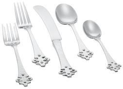 Ginkgo 079914-63005-4 Crusader 5 Piece Place Setting - 18/0