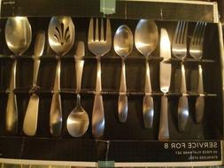 Cambridge 45 PC Flatware set - Service for 8, Stainless Stee