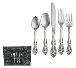 Oneida 45 Piece 18/10 Stainless Flatware Set, Service for 8