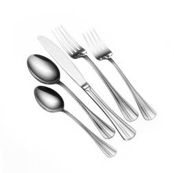 Pfaltzgraff 5074652 80-Piece Smithsfield Flatware Set