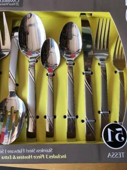 Cambridge 51 Piece Flatware Set Tessa