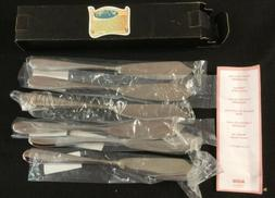 "Alessi 5180-18 Nuovo Milano Fish Knife 8"" 6pc Set"