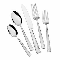 Mikasa 5236428 Oliver Gleam 65-Piece 18/10 Stainless Steel F