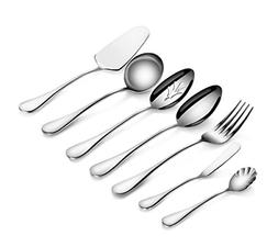 Artaste 56433 Rain 18/10 Stainless Steel 7-Piece Hostess Set