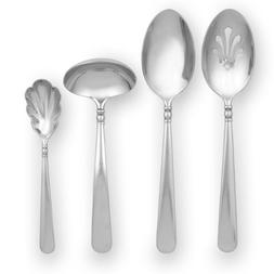 Lenox 6199236 Pearl Platinum 4 Piece Hostess Set