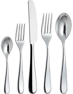 "Alessi""Nuovo Milano"" 5-Piece Cutlery Set, Includes Table Kni"