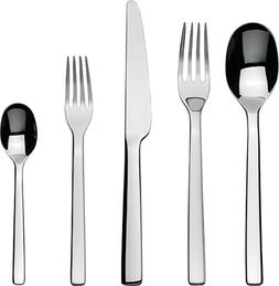 "Alessi""Ovale"" Flatware Set Composed Of One Table Spoon, Tabl"