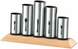 Bruntmor, 18/8 Stainless Steel Flatware Organizer Holder Cad