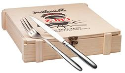Bruntmor, CRUX Royal 18/10 Stainless Steel 16-piece Steak Kn