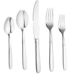 Bruntmor, CRUX Royal 40-Piece Flatware Set, High-Quality 18/