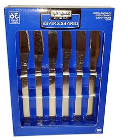 Daily Chef Food Service Dinner Knives 36 Count - Windsor