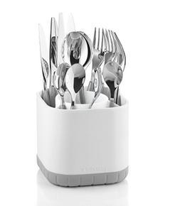 Guzzini Kitchen Grey Fill and Drain Cutlery Drainer