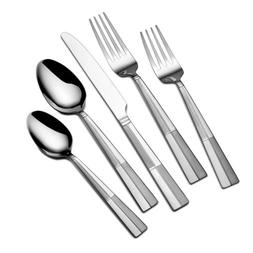 International Silver 5114325 Arabesque Frost 20-Piece Stainl
