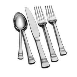 International Silver Kensington Stainless Steel Flatware, 53