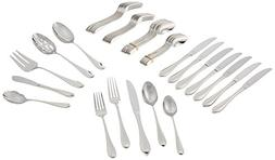 Lenox Gorham Studio Stainless 45 Piece Set-service for 8 & 5