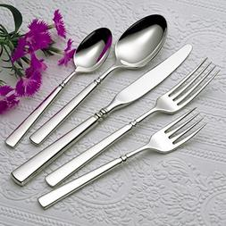 Oneida Easton 65 Piece Service for 12 Plus 5 Serving Pieces