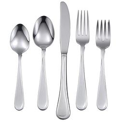 Oneida Flight 53-Piece Stainless Steel Flatware Set, Service