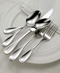 Oneida Voss 50-Piece Stainless Steel Flatware Set, Service f