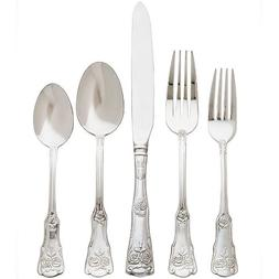 Royal Albert Old Country Roses 20 PC Flatware Set Stainless
