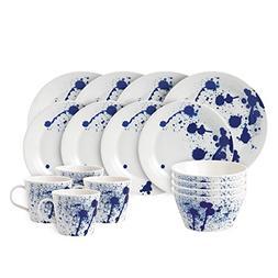 Royal Doulton Pacific 16 Piece Set Splash Dinnerware Set, Mu