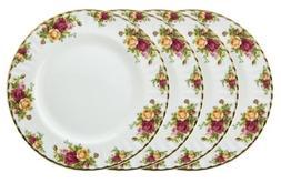 Royal Doulton-Royal Albert Old Country Roses Dinner Plates,