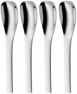 WMF Vela Stainless Steel Espresso Spoons, Set of 4