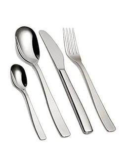 "A Di Alessi ""Knifeforkspoon"" 24-Piece Cutlery Set, Stainless"