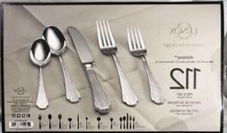 Lenox ~ ABILENE ~ 112-Piece 18/10 Flatware Set Service for 1