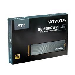 ADATA SWORDFISH PCIe NVMe Gen3x4 M.2 2280 Solid State Drive