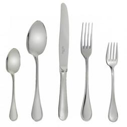 Christofle Albi II 30 Piece Stainless Steel Flatware Set Inc