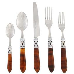 Vietri ALD-9800T-B Aladdin Brilliant Flatware Place Set, Tor