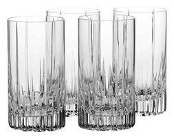 Mikasa Arctic Lights Set of 4 Crystal Highball Glasses