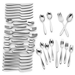 barnaby flatware set plus serving