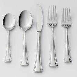 Oneida Bordeaux 20 Piece Casual Flatware Set, 18/0 Stainless