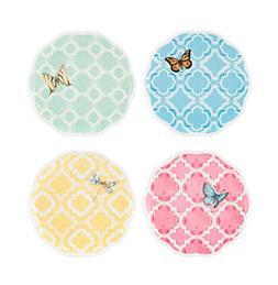 Lenox® Butterfly Meadow® Trellis Set of 4 Dessert Pl