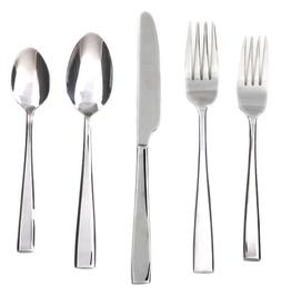 Cambridge Cali Mirror 30-Piece Flatware Set, Service for 6