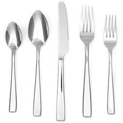 Cambridge Silversmiths Logan Mirror 40-Piece Flatware Set, S